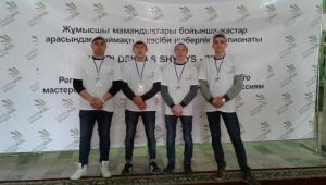 Участники в чемпионате Worldskills Shygys - 2018